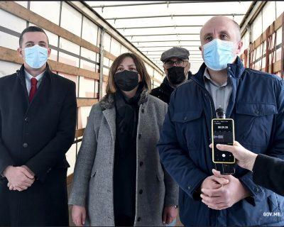 Privrednici iz dijaspore donirali 60 respiratora Crnoj Gori