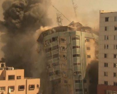 Izrael bombarduje i medije: U Gazi srušena zgrada s uredima Al Jazeere, Associated Pressa, Frans pressa…