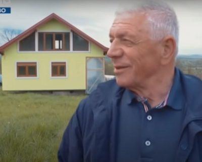 Vojin Kusić udovoljio supruzi: Napravio kuću koja se okreće (VIDEO)