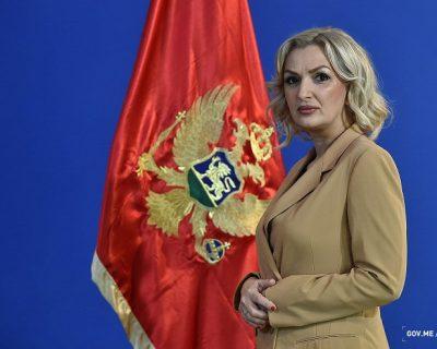Ministarka Borovinić Bojović prekršila zakon, kažnjena sa 500 eura