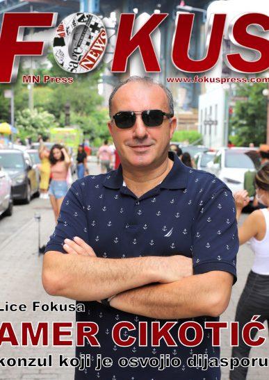 Lice Fokusa: Amer Cikotić, konzul koji je osvojio dijasporu